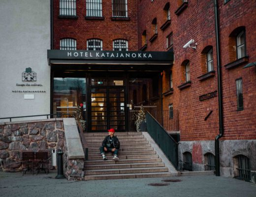 Otto Lilja, hotelli katajanokka, hotellit helsinki 1